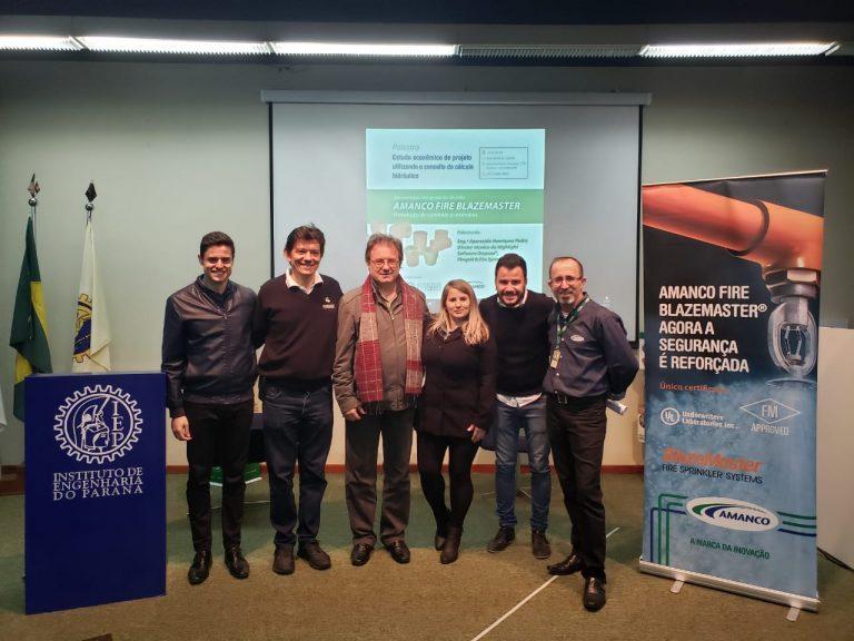 Highlight faz palestra no IEP no Parána com a Amanco sobre economia nos projetos de Sprinkler