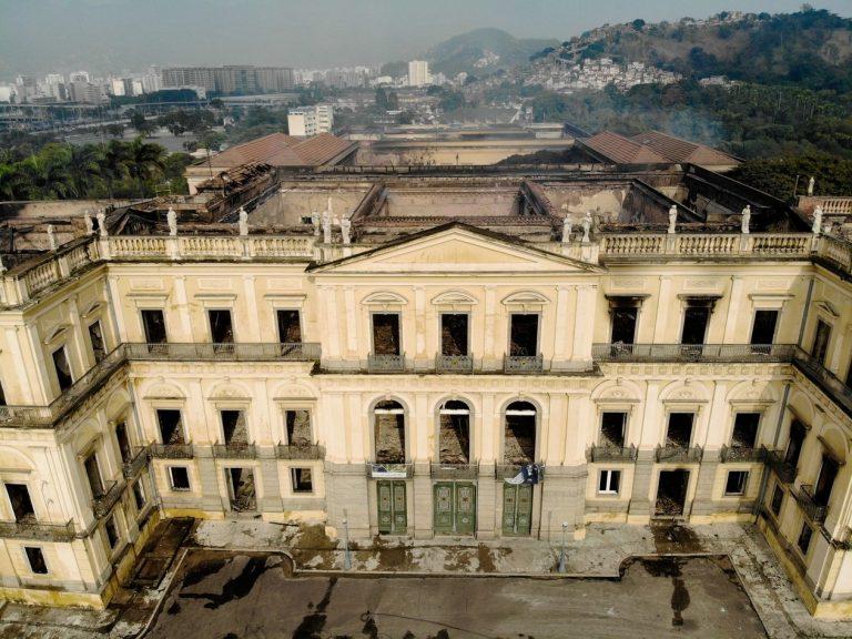 INCÊNDIO NO MUSEU NACIONAL, NO RIO DE JANEIRO